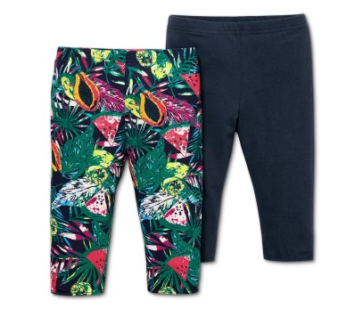 9414a796a8 A ruhákhoz, és a szoknyákhoz is pompás kiegészítő a ¾-es leggings, amit két  darabos szettben találunk meg a kínálatban, kétféle színösszeállításban ...